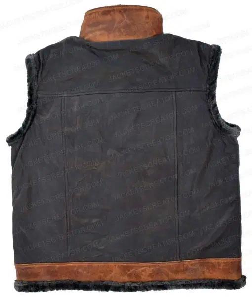 Jumanji Rock Leather Vest back