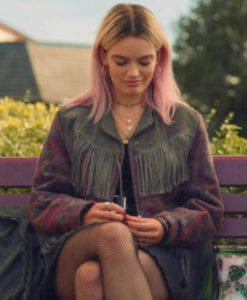 Maeve Wiley Fringe Jacket