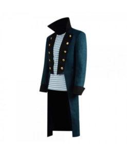 Dr. John Dolittle Blue Trench Coat