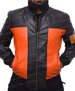 Naruto Uzumaki Leather Jacket