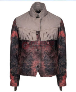 Maeve Wiley Fringe Jacket front