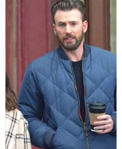 Chris Evans Bomber Jacket