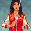 Ralph Breaks The Internet Mulan Dragon Varsity Jacket   TLC