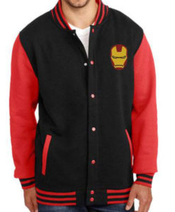 Iron Man Letterman Jacket