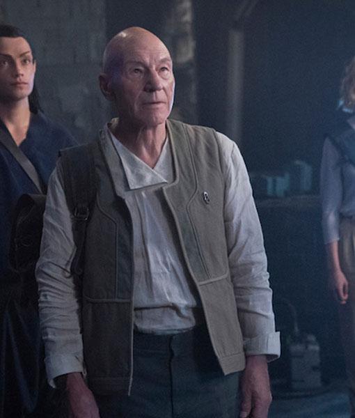 Star Trek Picard Jean-Luc Picard Vest
