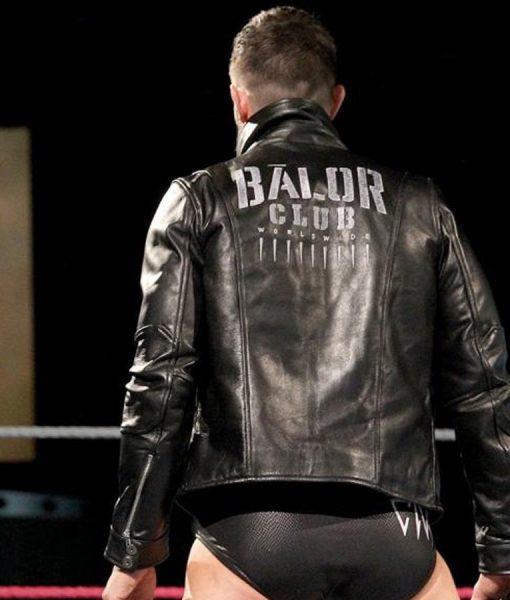 Wwe Superstar Finn Balor Club Leather Jacket Tlc