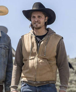 Yellowstone Luke Grimes Vest