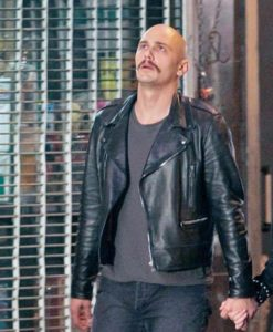 Zeroville Montgomery Clift Leather Jacket