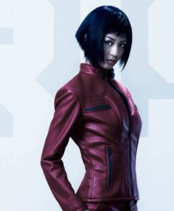 Ghost In The Shell Major Leather Jacket