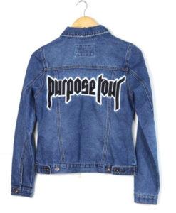 Justin Bieber Purpose Tour Jacket