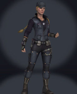 Mortal Kombat Sonya Blade Vest