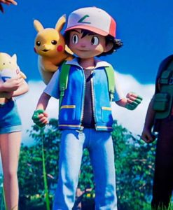 Pokemon Ash Ketchum Jacket