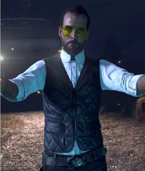 Far Cry 5 Joseph Seed Leather Vest | TLC