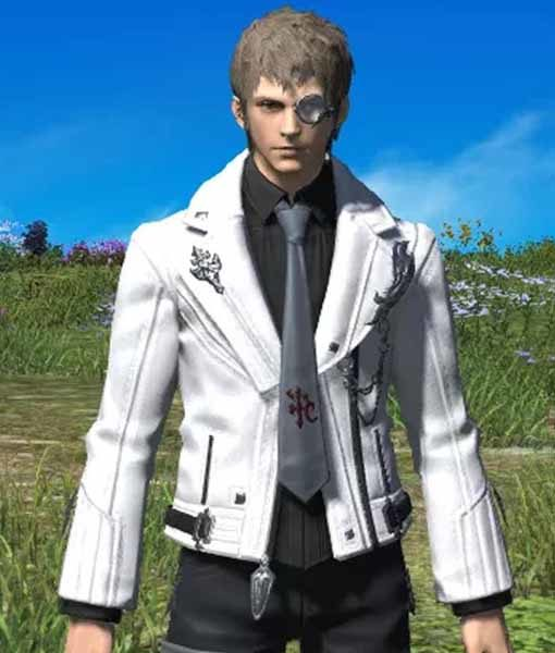 Final Fantasy XIV Scion Adventurers Leather Jacket | TLC