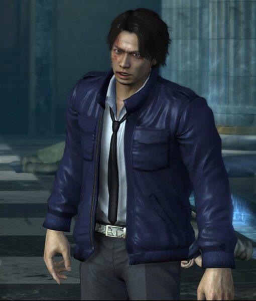 Yakuza 4 Masayoshi Tanimura Leather Jacket | TLC