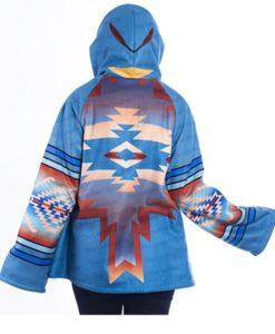 Yellowstone Beth Dutton Classic Semi-Cloak Style Coat