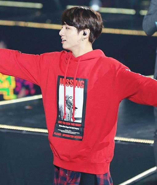 This Hand Crafted BTS Jungkook MISSING Hoodie has been fabricated from genuine leather and inner viscose, so it can remain comfortable for the wearer.