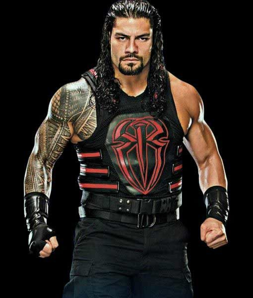 WWE Roman Reigns Red Vest