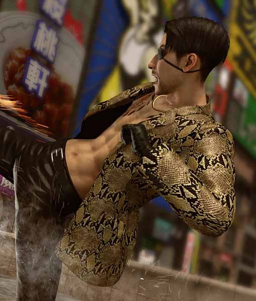 yakuza like a dragon majima