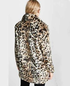 Yellowstone Beth Dutton Cheetah Print Coat