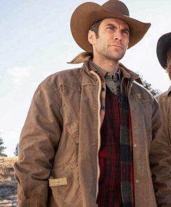 Yellowstone Jamie Dutton Brown Jacket