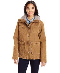 Yellowstone Monica Dutton Fur Collar Jacket