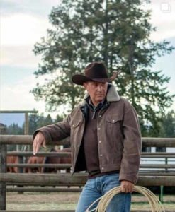Yellowstone S03 John Dutton Corduroy Jacket