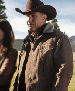 Yellowstone S03 John Dutton Corduroy Jacket