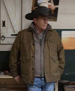 Yellowstone S03 John Dutton Cotton Jacket