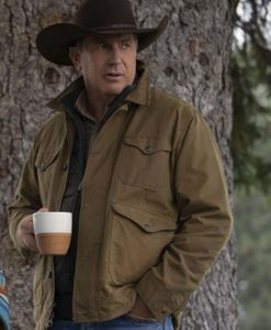 Yellowstone S03 John Dutton Cotton Jacket