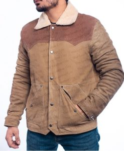 Yellowstone S03 John Dutton Leather Jacket