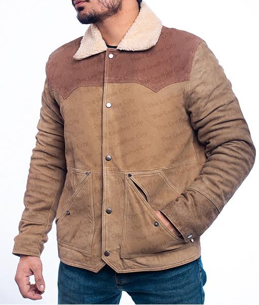 Yellowstone S03 John Dutton Leather Jacket