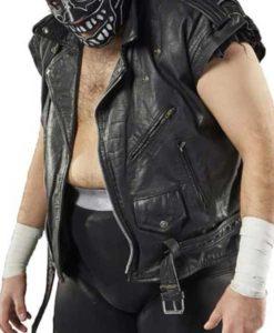 AEW Evil Uno Leather Vest