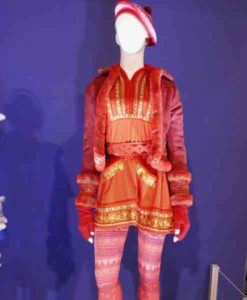 Noelle Anna Kendrick Red Christmas Coat