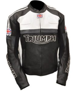 Triumph Motorcycle Biker Jacket