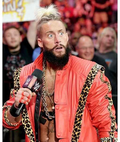 WWE Enzo Amore Leather Jacket   TLC