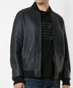 Butter Black Bomber Jacket