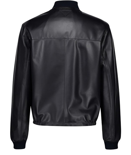 Reversible Nappa Leather Bomber Jacket