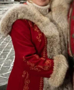The Christmas Chronicles 2 Mrs. Claus Coat