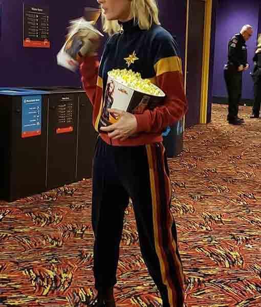 Captain Marvel Carol Danvers Tracksuit