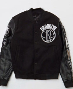 Brooklyn Nets Varsity Jacket