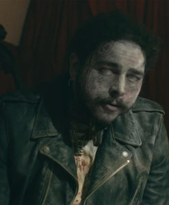 Post Malone Zombies Leather Jacket