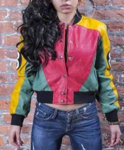 Women's 8 Ball Pool Leather Jacket
