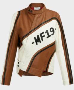 Women's Biker MF 19 Leather Jacket