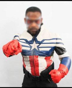 Falcon's Captain America Suit Jacket
