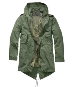 Men's M51 Green Hooded Coat