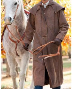 Men's Montgomery Cowboy Leather Coat