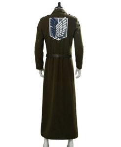 Attack On Titan S03 Eren Jaeger Green Coat