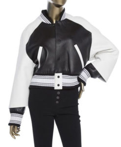 Bold and the Beautiful Paris Buckingham Bomber Jacket