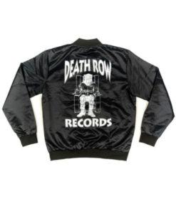 Men's Death Row Records Black Jacket
